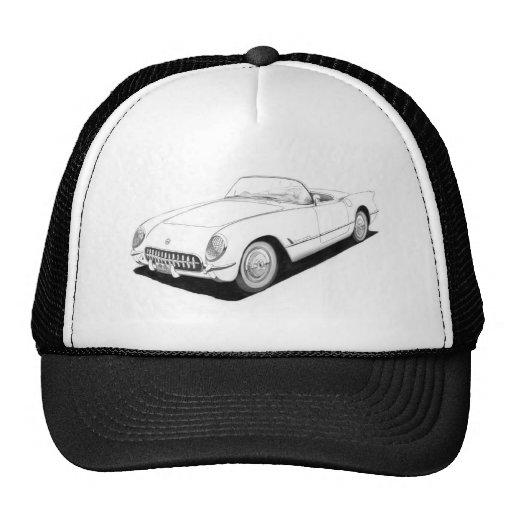 1953 Chevrolet Corvette C1 Artwork Hat