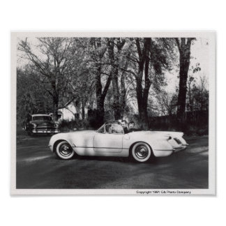 1953 Chevrolet Corvette Poster
