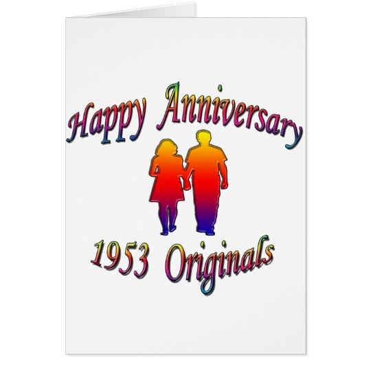 1953 Couple Card