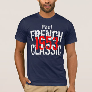 1953 French Classic 60th Birthday Gift for Him T-Shirt
