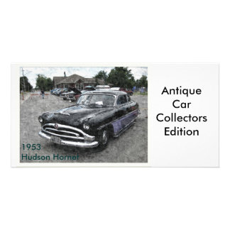 1953 Hudson Hornet Custom Photo Card