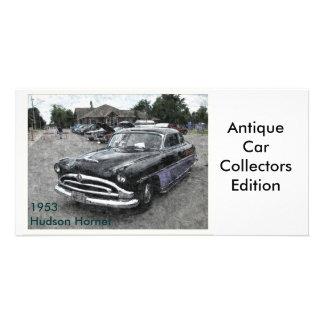 1953 Hudson Hornet Custom Photo Card
