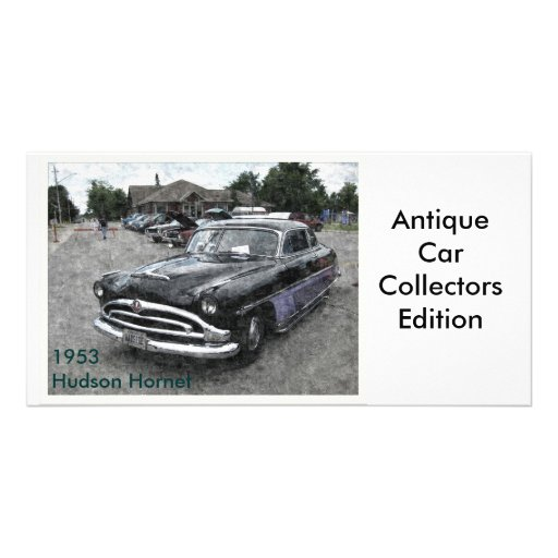 1953 Hudson Hornet Personalized Photo Card