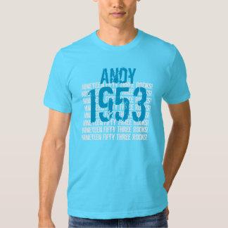 1953 Vintage Year 60th Birthday Shirts