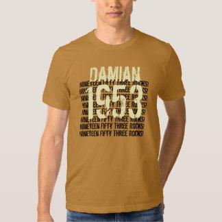 1953 Vintage Year 60th Birthday Tee Shirt