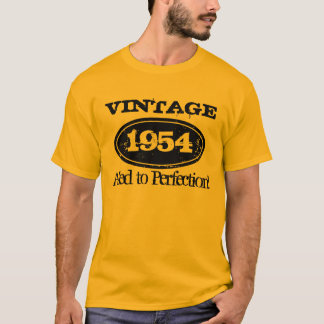 1954 Aged to perfection | Vintage Birthday t shirt