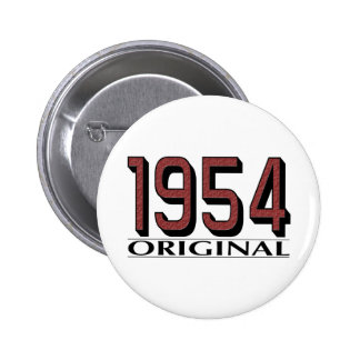 1954 Original 6 Cm Round Badge