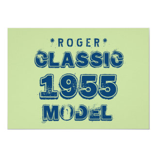 1955 60th Birthday CLASSIC MODEL Green J60