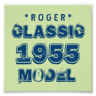 1955 60th Birthday CLASSIC MODEL Green J60 Photo Art