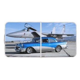 1955 Buick Special Classic Car Fighter Jet Beer Pong Table