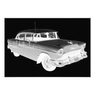 1955 Chevrolet Bel Air Classic Car Art Photographic Print