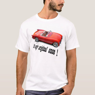 1955 Chevrolet Corvette Convertible T-Shirt