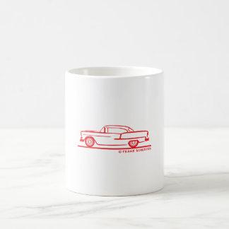 1955 Chevrolet Hardtop Coupe Basic White Mug