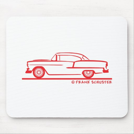 1955 Chevrolet Hardtop Coupe Mouse Pad