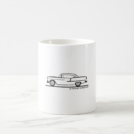 1955 Chevrolet Hardtop Coupe Mugs