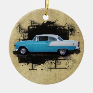 1955 Chevy Bel Air- Classic Car-Ornament Christmas Ornament
