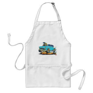 1955 Chevy Belair Turquoise Car Standard Apron