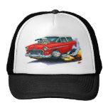 1955 Chevy Nomad Red Car Mesh Hat