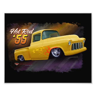 1955 Chevy truck print Photo