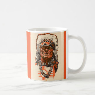 1955 Indian chief Coffee Mug