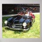 1955 Mercedes Benz 300SL Gullwing Poster