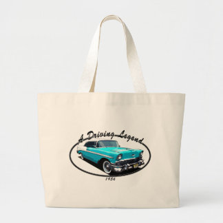 1956 BEL AIR BLUE TOTE BAG
