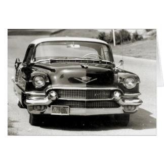 1956 Cadillac Coupe de Ville Greeting Card