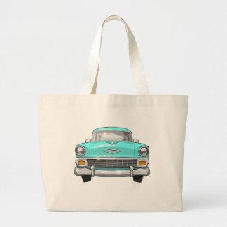 1956 Chevrolet Bel Air Jumbo Tote Bag