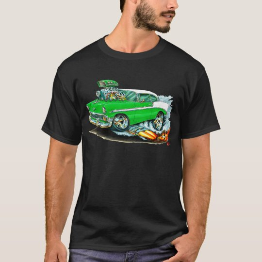 1956 Chevy 150-210 Green Car T-Shirt