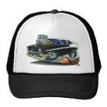1956 Chevy Belair Black Car Trucker Hat