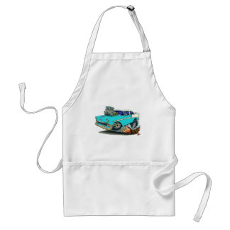 1956 Chevy Belair Turquoise Car Aprons