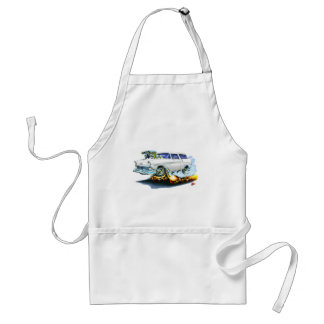 1956 Chevy Nomad White Car Standard Apron