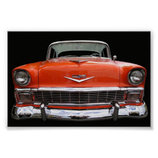 1956 CHEVY POSTER