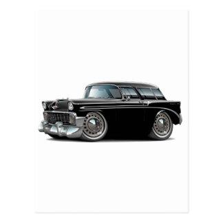 1956 Nomad Black Car Post Card