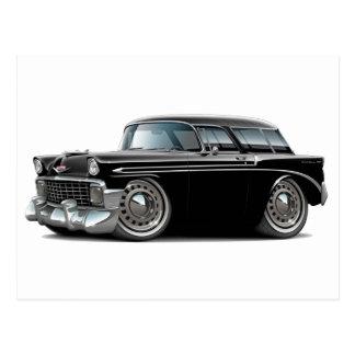 1956 Nomad Black Car Postcard