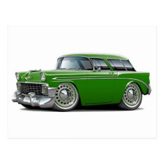 1956 Nomad Green Car Postcards