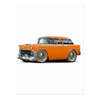 1956 Nomad Orange Car Post Cards