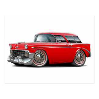 1956 Nomad Red Car Post Cards