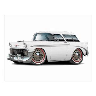 1956 Nomad White Car Postcard
