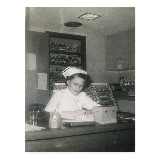 1956 NURSE #11 POSTCARDS