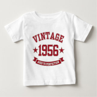 1956 Vintage Aged to Perfection Baby T-Shirt