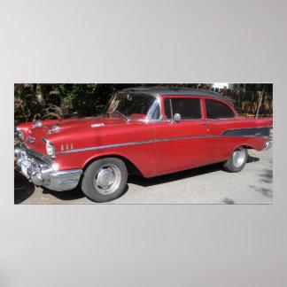 1957 Chevrolet Bel-Air/210 Posters