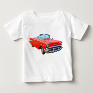 1957 Chevrolet Bel Air Convertible Antique Car Baby T-Shirt