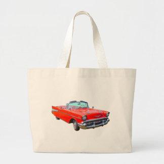 1957 Chevrolet Bel Air Convertible Antique Car Bag