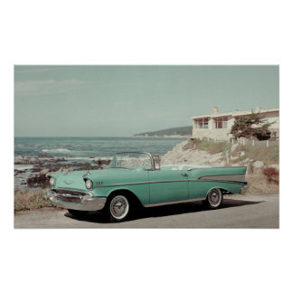 1957 Chevrolet Bel-Air Convertible Print