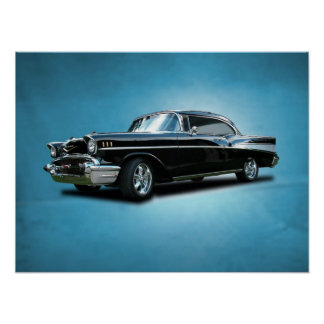 1957 Chevrolet Bel-Air Poster