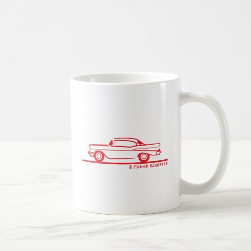 1957 Chevrolet Hardtop Coupe Coffee Mug
