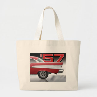 1957 Chevy Bel Air Tote Bags