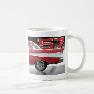 1957 Chevy Bel Air Basic White Mug