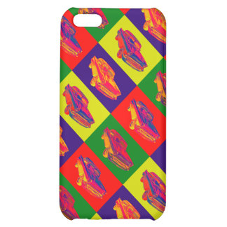 1957 Chevy Bel Air Car Pop Art Cover For iPhone 5C